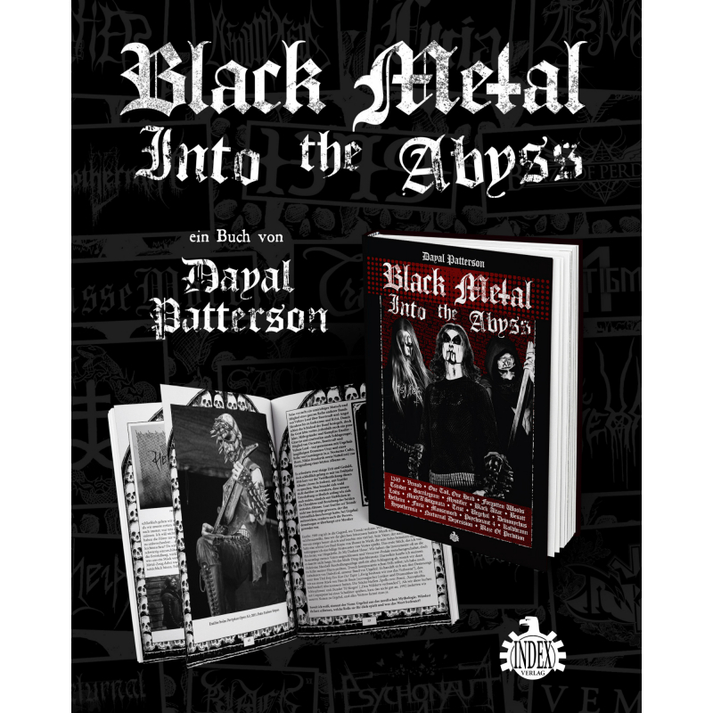 Dayal Patterson - Black Metal - Into The Abyss Book